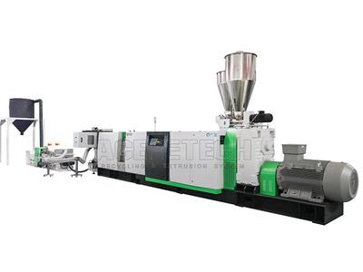 Single Screw Recycling And Pelletizing Line Zhangjiagang